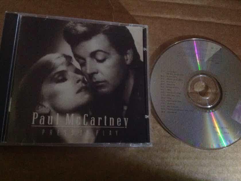 Paul McCartney - Press To Play Parlophone U.K. Compact Disc With Bonus Tracks