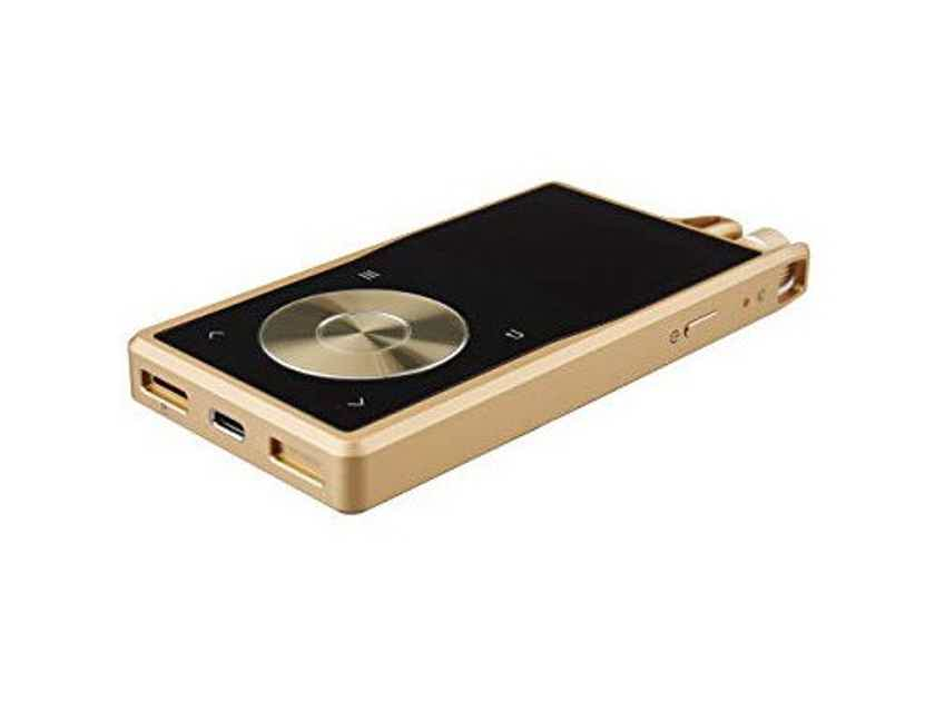 Questyle QP2R Portable Music Player; Gold (New) (16831)