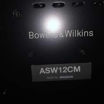 B&W (Bowers & Wilkins) ASW-12CM