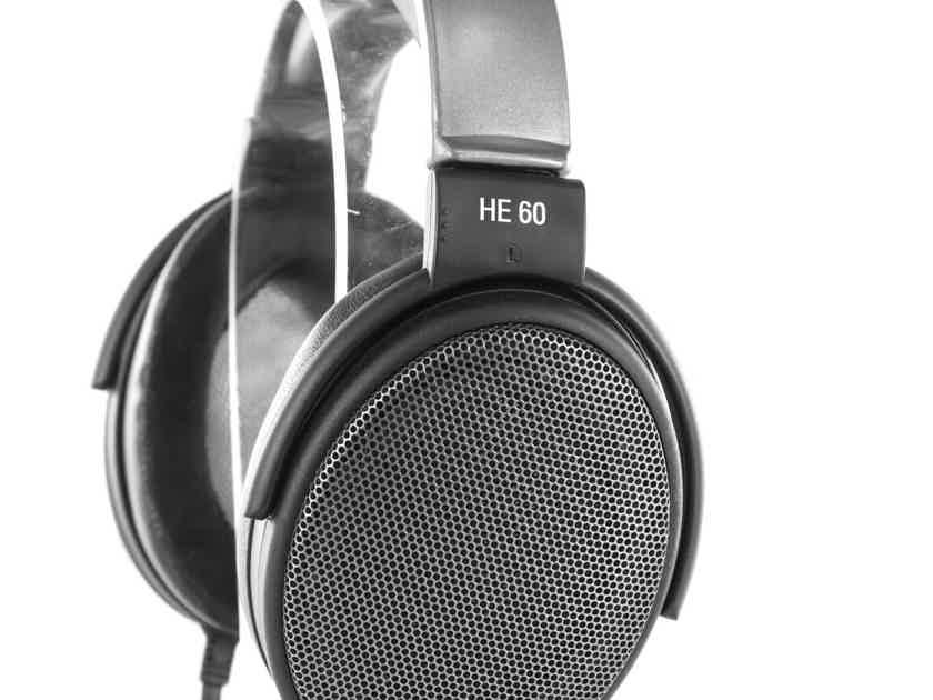 Sennheiser HE60 Vintage Electrostatic Open Back Headphones; HE-60 MINT! (21042)