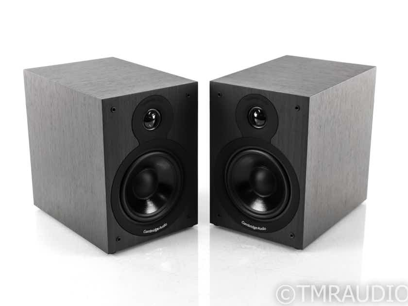 Cambridge Audio SX-50 Bookshelf Speakers; Black Pair; SX50 (29308)
