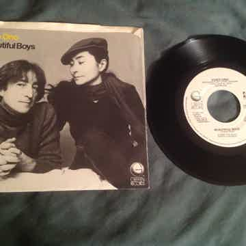 John Lennon  Woman Geffen Records 45 With Picture Sleeve