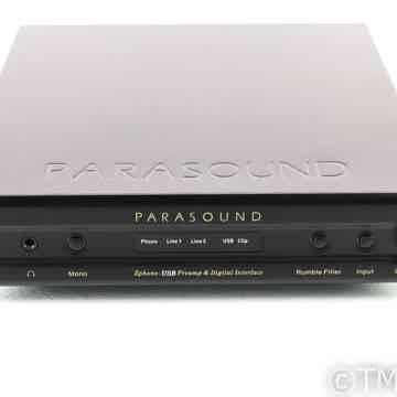 Parasound Zphono USB MM / MC Phono Preamplifier