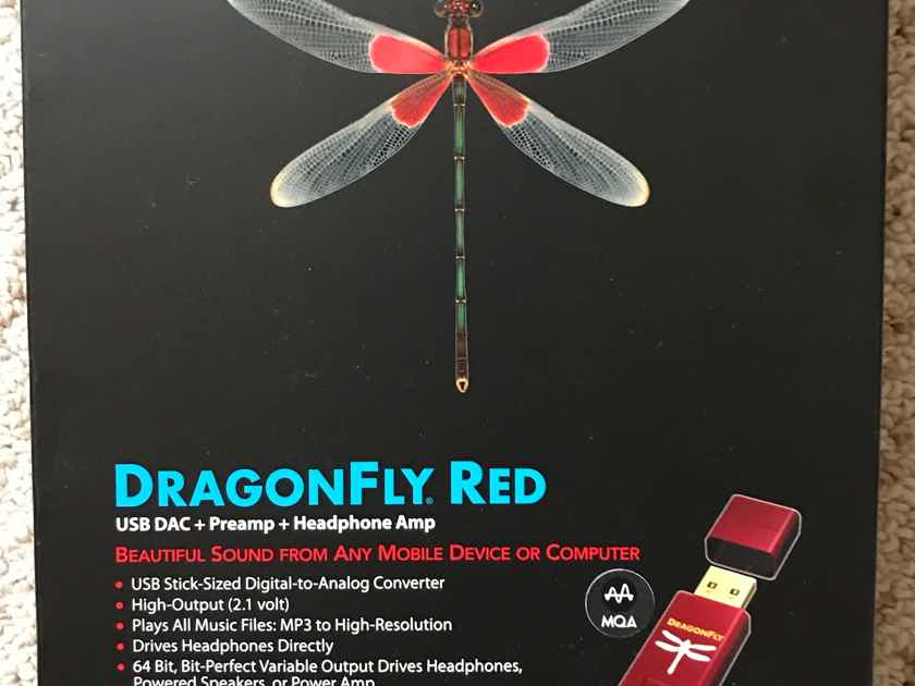 AudioQuest Dragonfly Red New in Box