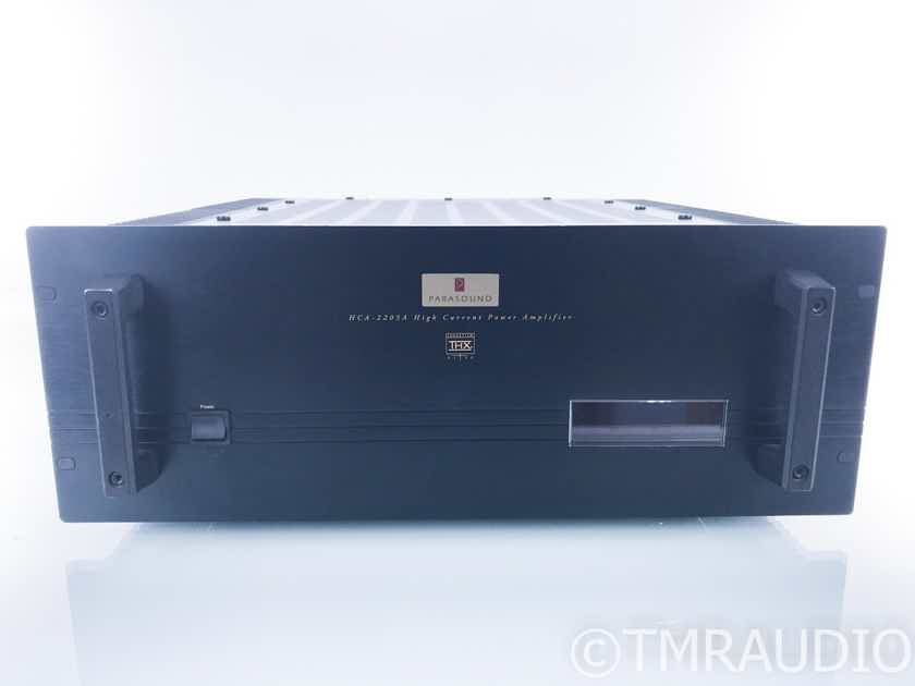 Parasound HCA-2205A 5 Channel Power Amplifier; HCA2205A; AS-IS (Power Issue) (20630)