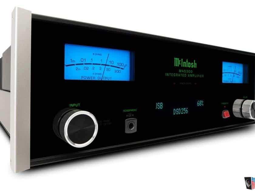 McIntosh MA5300 - Premium Integrate Amplifier still under warranty.