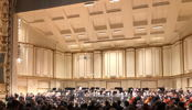 My favorite listening position - SLSO Parquet at Powell Hall