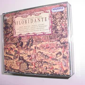 Handel Floridante opera in 3 acts 3 cd set Hungaroton classic Savaria & McGegan 1999