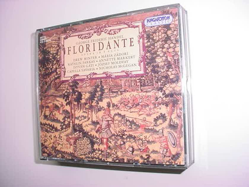 Handel Floridante opera in 3 acts 3 cd set Hungaroton classic Savaria & McGegan 1999