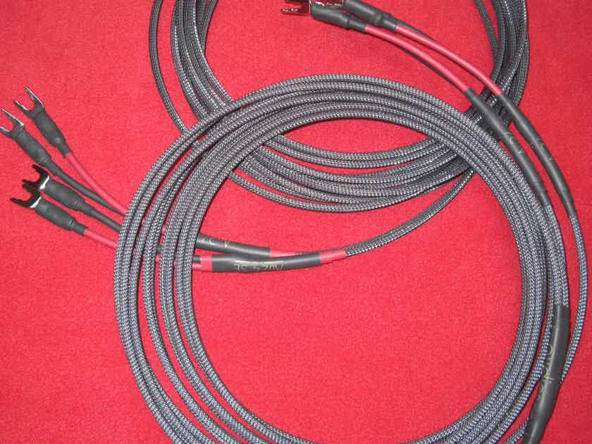 Audience AU24 SE External Biwire Speaker Cables *4 Meter Pair* W/Spades