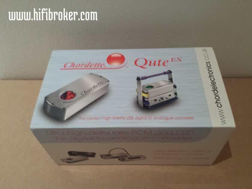 Chord Electronics Ltd. Chordette Qute EX