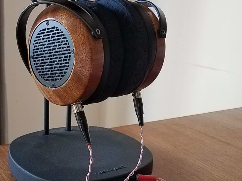 ZMF Headphones Aeolus In Sapele Wood