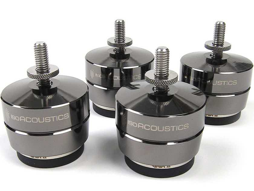 ISO-ACOUSTIC GAIA 1 Acoustic Isolation Stands (4 Pak): EXCELLENT Trade-In; 30% Off