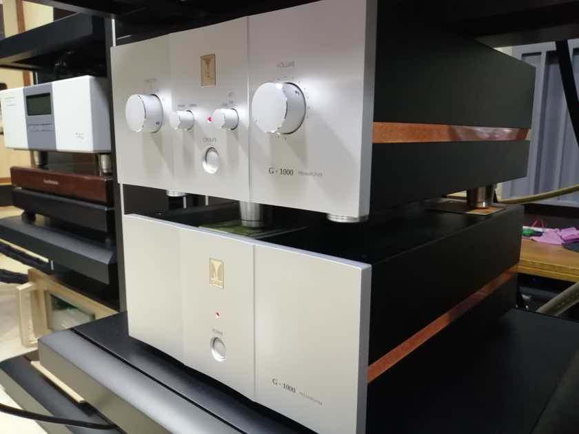 Clearance at the end of the year/Kondo AudioNote Japan flagship preamplifier, G-1000 i