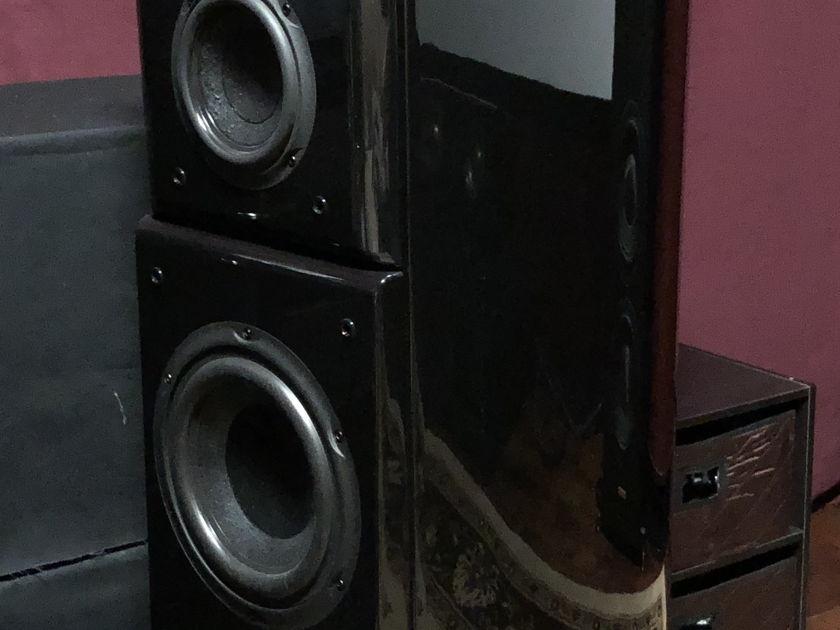 Acoustic Zen Crescendo MkII (Piano Black: cabinet plus baffle)