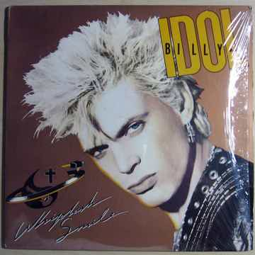 Billy Idol - Whiplash Smile - 1986 Chrysalis OV 41514