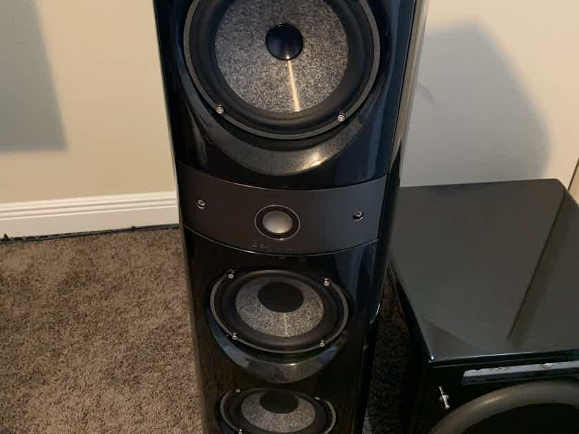 Focal Electra Be system 1028 Be 1008 Be CC Gloss Black