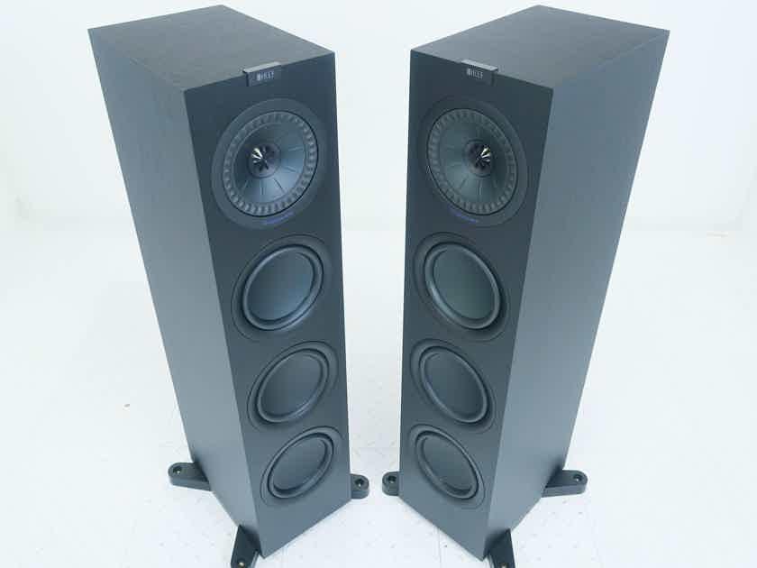 KEF Q750 Floorstanding Speakers Black Pair (16288)