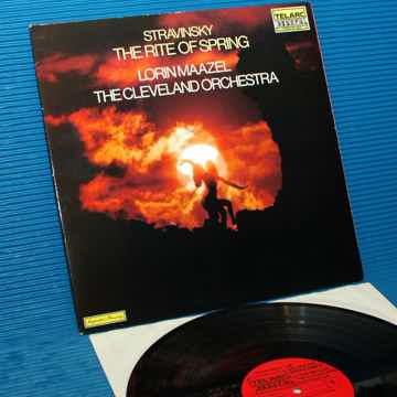 "STRAVINSKY / Maazel   - ""The Rite of Spring"" -  Telarc ..."