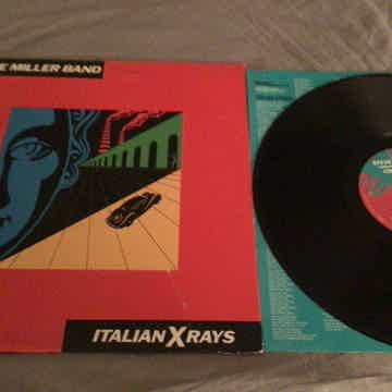 Steve Miller Band Deadwax Wally Etched  Italian X Rays