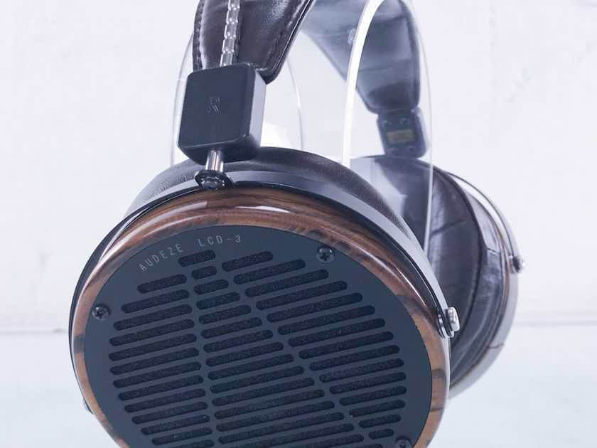 Audeze LCD-3 Planar Magnetic Headphones LCD3; AS-IS (Right Driver Out) (15295)