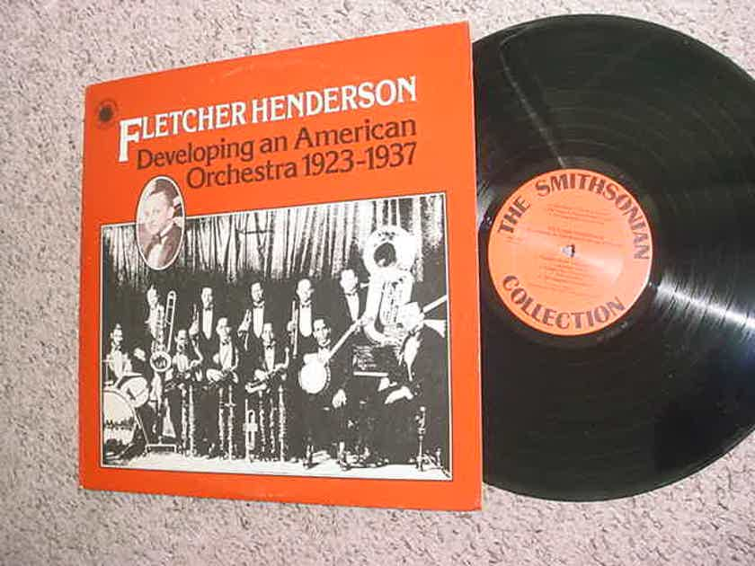jazz Fletcher Henderson double lp record - Developing an American orchestra 1923-1937 Smithsonian Collection 1977