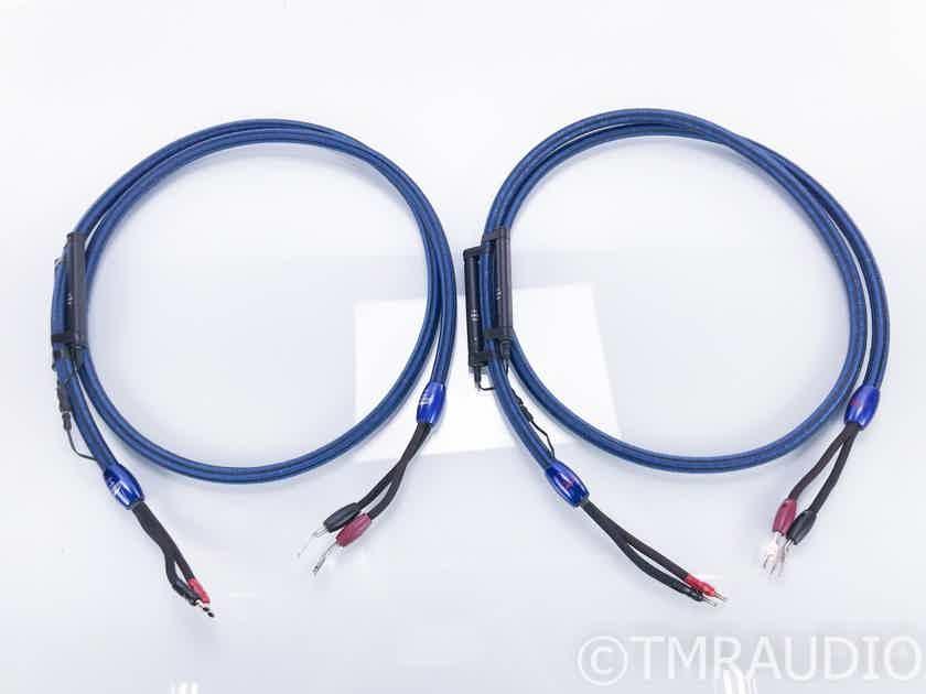 AudioQuest Mont Blanc Speaker Cables; 8ft Pair; 72v DBS (16871)
