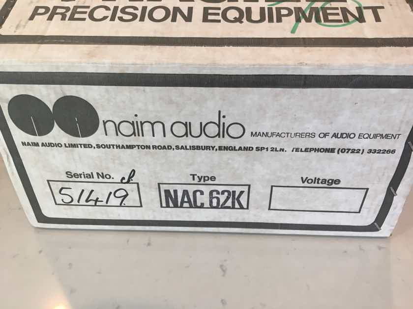 Naim Audio NAC-62 Chrome Bumper