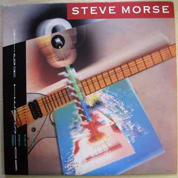Steve Morse - High Tension Wires  - Gold Stamped Promo ...