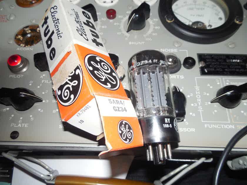 1 new in the box 1968  blackburn Mullard  gz34 / 5ar4 rectifier tube