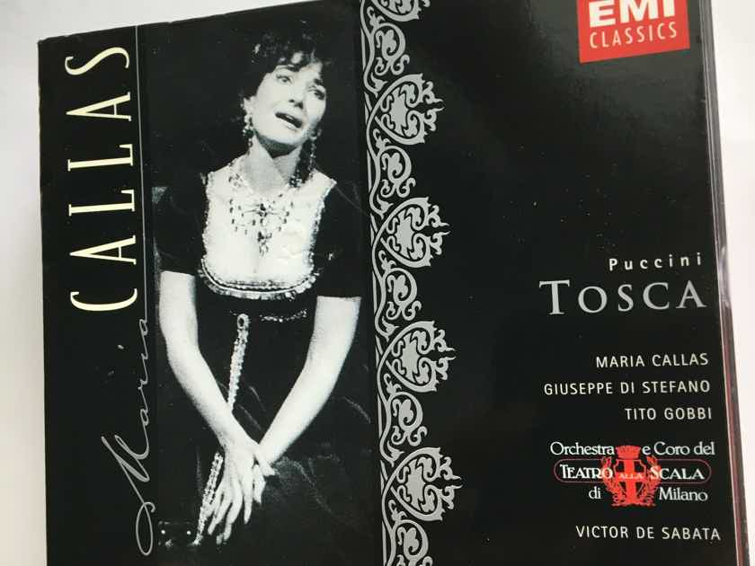 Maria  Callas Puccini  Tosca Cd box set opera EMI classics 1997