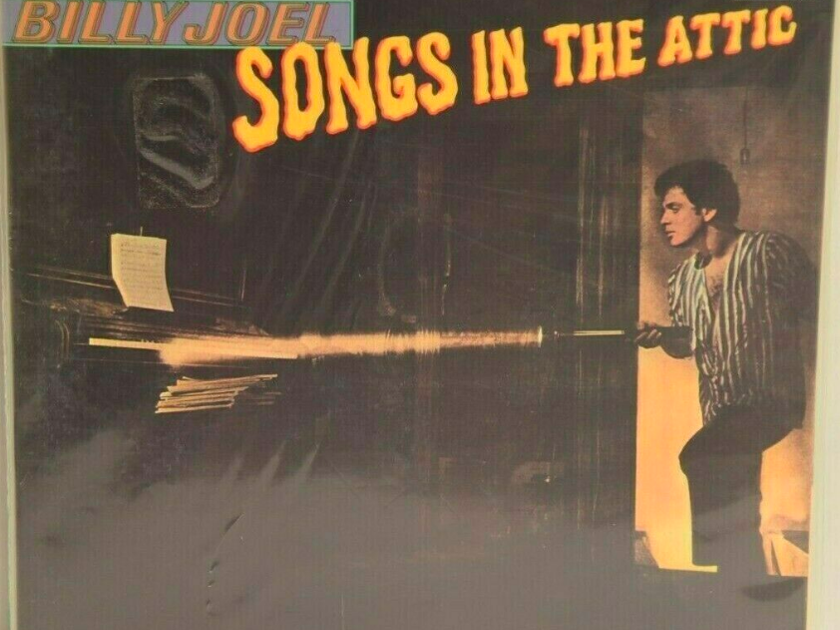 Billy Joel Songs in the Attic - CBS Mastersound Half Speed - Sealed