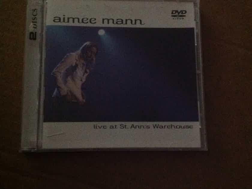 Aimee Mann - Live At St. Anne's Warehouse Super Ego Records CD/DVD Set