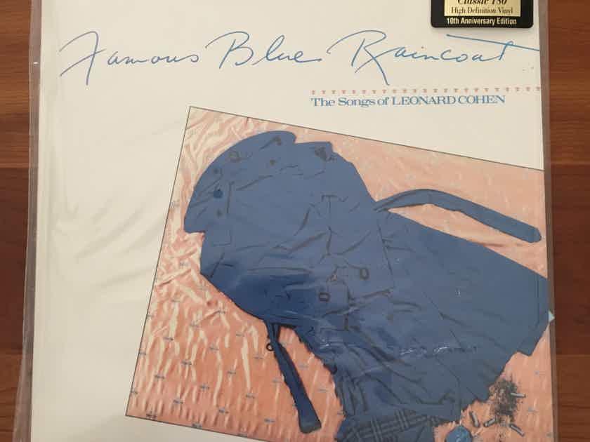 "SEALED AUDIOPHILE CLASSIC! Jennifer Warnes ""Famous Blue Raincoat"" RTH 5052-1 RE RM BG... $125"