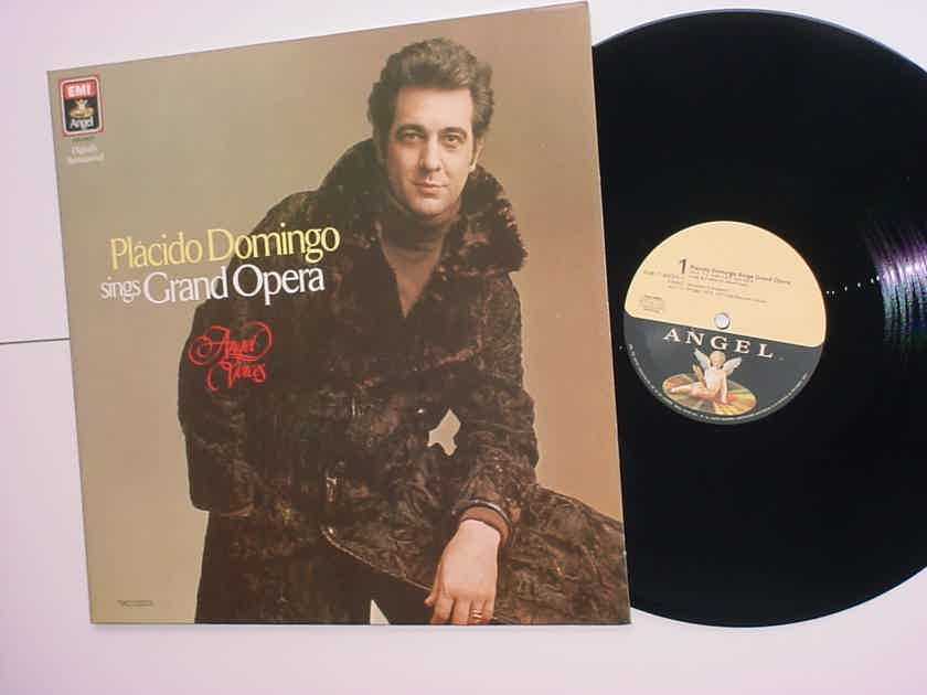 Placido Domingo sings grand opera DMM Digitally Remastered direct metal double lp record EMI ANGEL