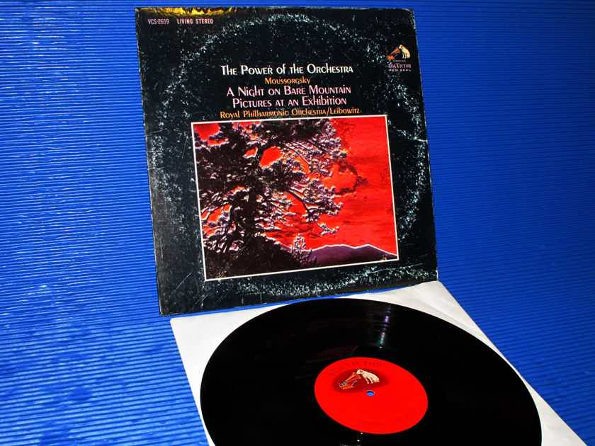 "MOUSSORGSKY / Leibowitz - ""Power of the Orchestra"" - RCA Shaded Dog 1963 TAS List"