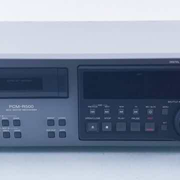 PCM-R500 DAT Cassette Deck