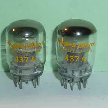 Western Electric 437A Tubes, Pair, Matched Codes
