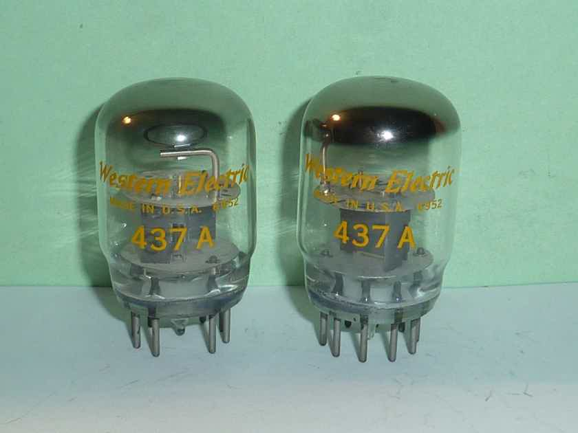 Western Electric 437A Tubes