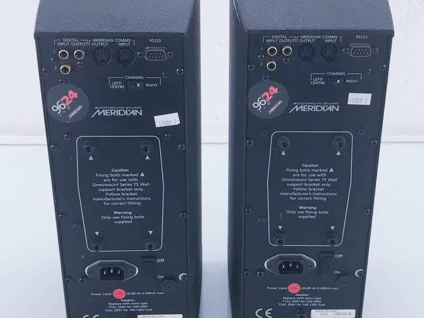 Meridian DSP33 Digital Active Speakers; Pair 96/24 (11509)