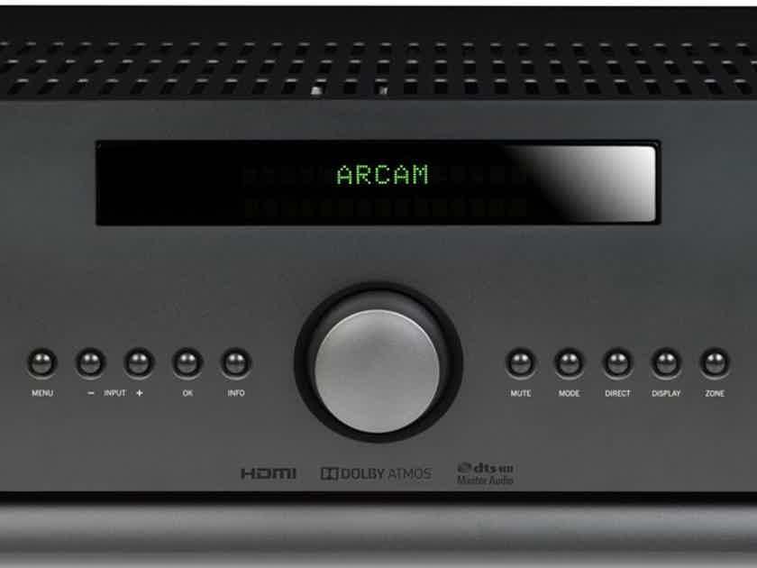 ARCAM FMJ AVR390 AV Receiver (Black): Excellent DEMO; Full Warranty; 50% Off; Free Shipping