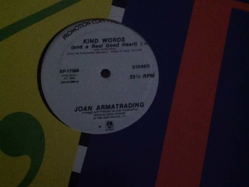Joan Armatrading - Kind Words(And A Good Heart) A & M Records 12 Inch Promo Single Vinyl NM
