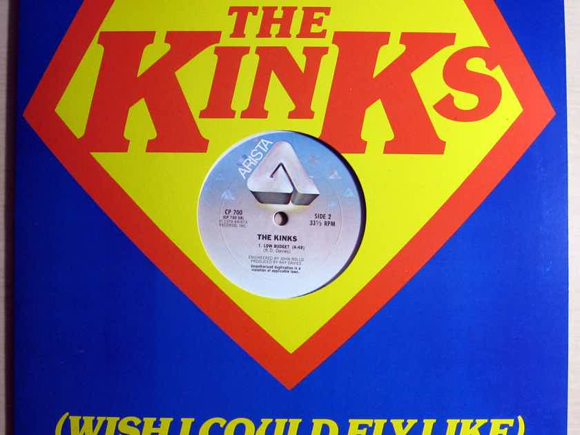 The Kinks - (Wish I Could Fly Like) Superman  - 1979 Arista CP 700