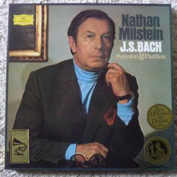 NATHAN MILSTEIN  SOLO VIOLIN BACH Mint