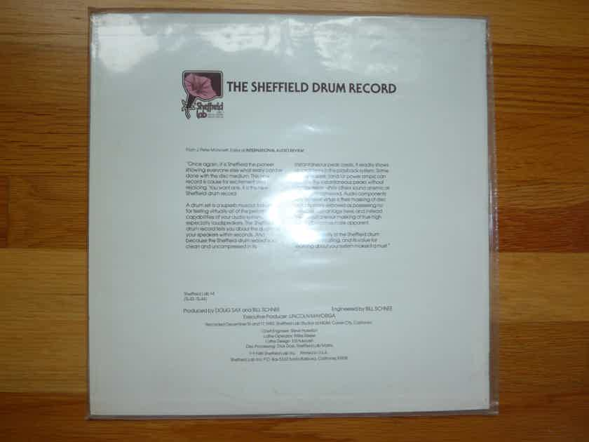 SHEFFIELD DRUM RECORD -  - Jim Keltner - Ron Tutt -  SEALED LP - TAS List - DIRECT TO DISK
