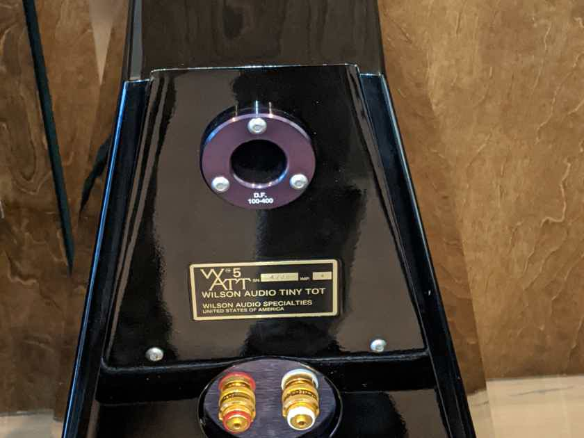 Wilson Audio WATT/Puppy 5, Black Finish, Certified Authentic Factory Tested