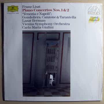 "Franz Liszt - Lazar Berman / Wiener Symphoniker Klavierkonzerte Nr. 1 & 2 / ""Venezia E Napoli"""