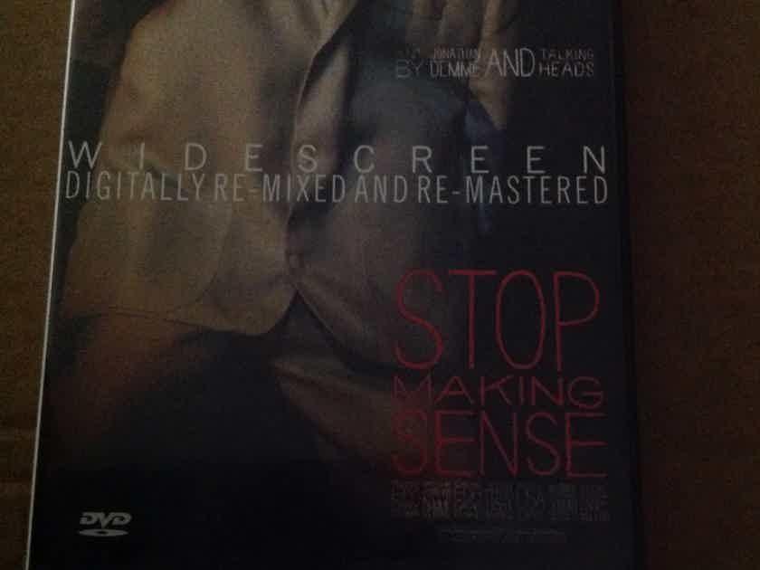 Talking Heads - Stop Making Sense Concert Film David Byrne Dvd Region 1