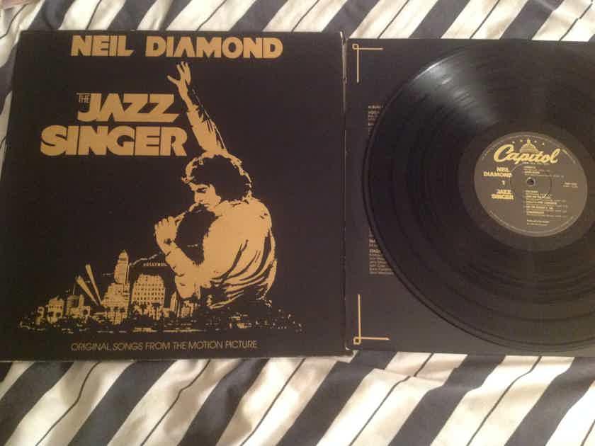 Neil Diamond  The Jazz Singer Gatefold Cover Capitol Records