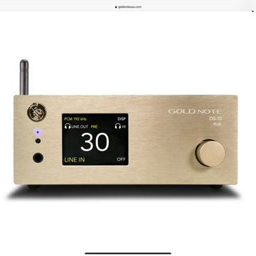 New Gold Note DS-10 Plus, DS-10, Add the  PA-10 Amp for...
